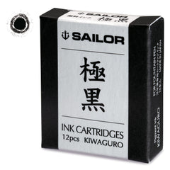 Sailor Kiwa-Guro pigmented Black Ink Cartridge-Pen Boutique Ltd