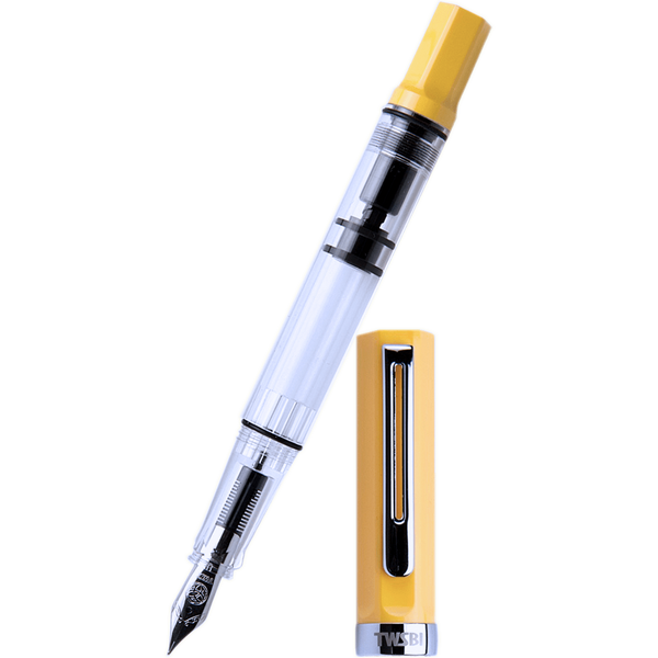 TWSBI Eco Fountain Pen - Transparent Yellow-Pen Boutique Ltd