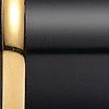 Black lacquer gold plated