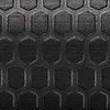 Polished black honeycomb black pattern