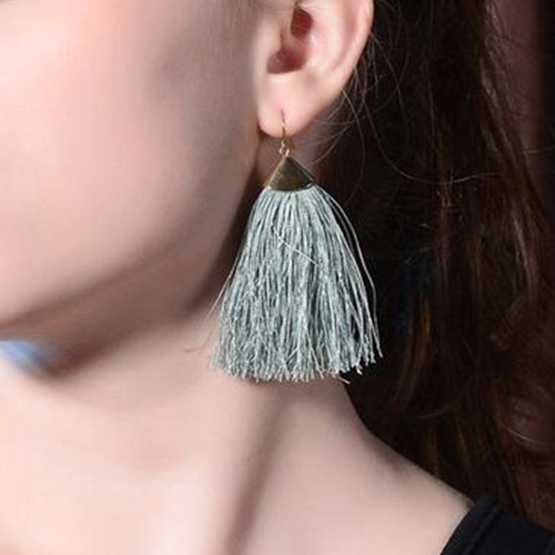 Bohemian Ethnic Style Tassels Earrings