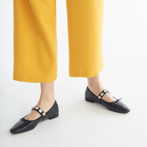 Water Drill Flat Bottom Shallow Shoes Comfortable Flats