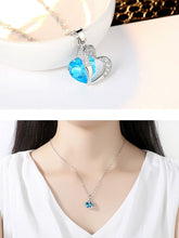Load image into Gallery viewer, Faux Crystal Rhinestone Heart Necklaces