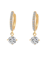 Load image into Gallery viewer, Basic Alloly Rhinestone Earrings