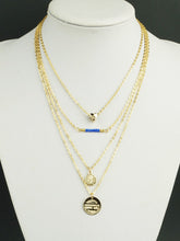 Load image into Gallery viewer, Gold Pendant Boho Layers Chain Necklace
