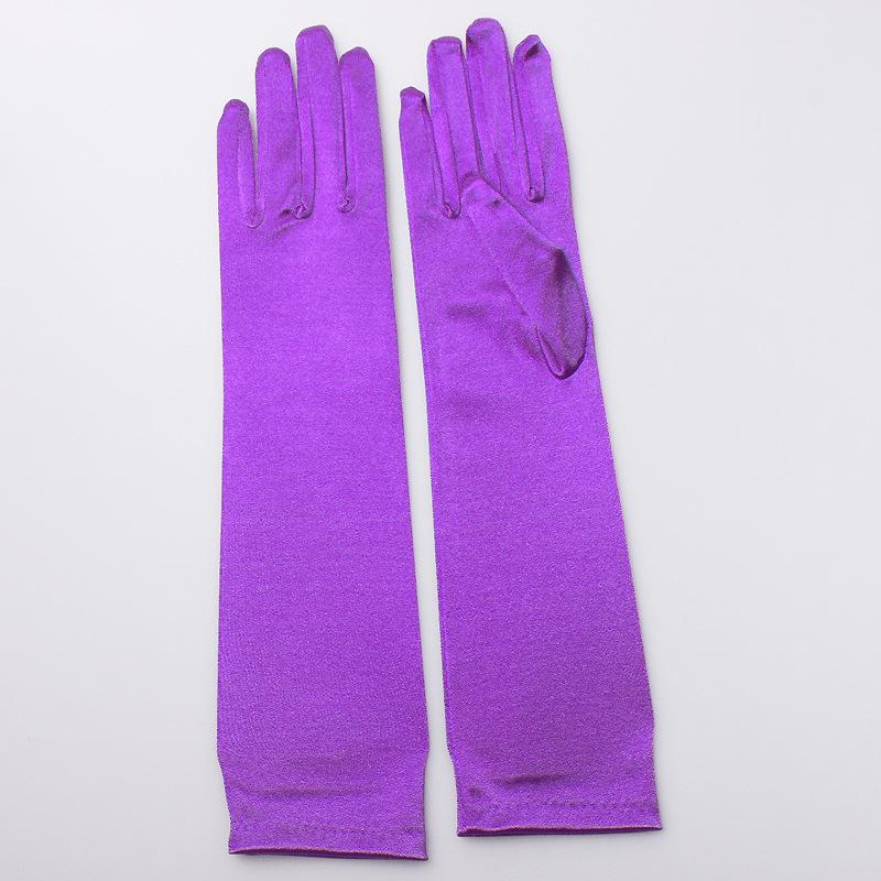 38f74beb1663f ... Load image into Gallery viewer, Elegant Stain Bridal Wedding Gloves ...