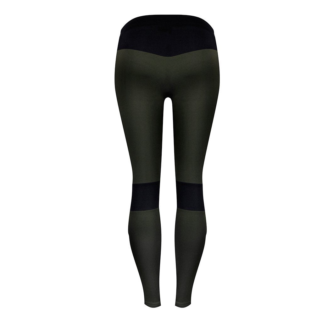 11ae91ad8fdfe ... Load image into Gallery viewer, Personality Stitching Fitness Tight Hip  Thin Yoga Pants ...