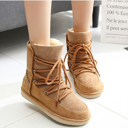 Casual Thickened Waterproof Snow Boots