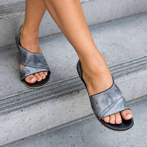 Peep Toe  Sandals Casual Shoes
