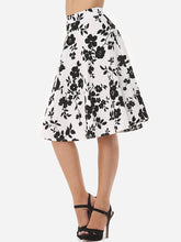 Load image into Gallery viewer, Floral Printed Elegant Midi-Skirt