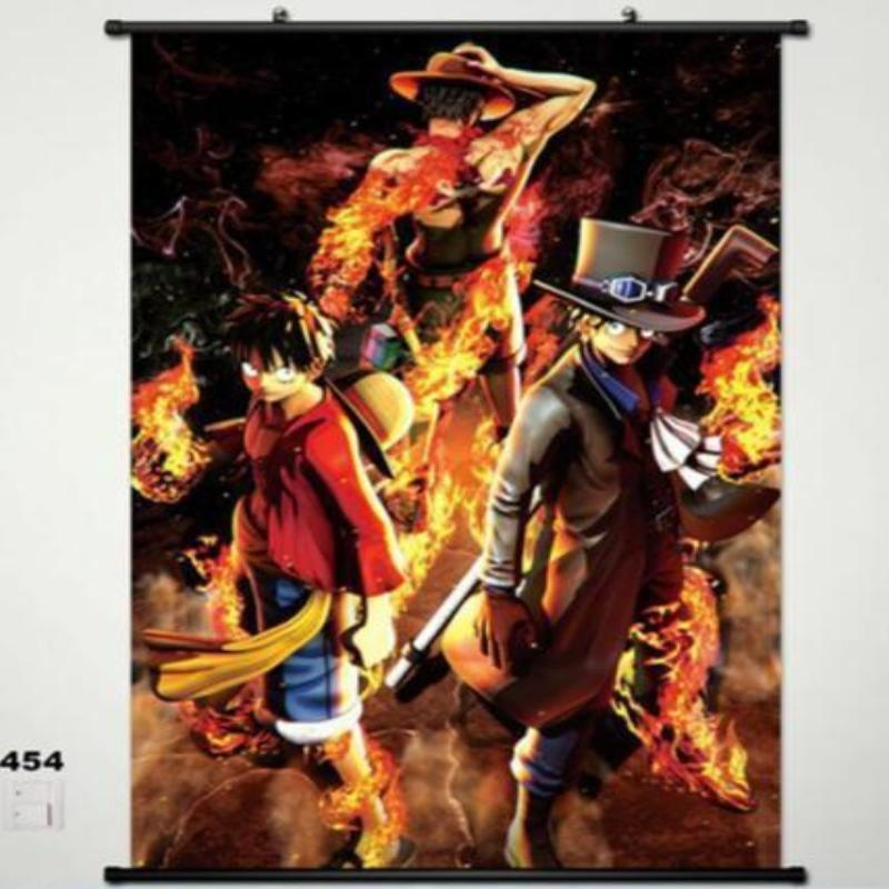 One Piece Monkey D Luffy Home Decor Anime Poster Wall Scroll Christmas Whole a