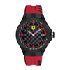 Ferrari Pit Crew Black Dial Men's Watch - 830128
