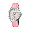 Casio Enticer Analog Pink Dial Women's Watch - LTP-V300L-4AUDF