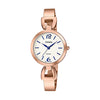 Casio Enticer Analog White Dial Women's Watch - LTP-E402PG-7AVDF