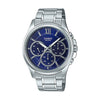 Casio Enticer Analog Blue Dial Men's Watch - MTP-E315D-2AVDF