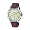 Casio Enticer Analog Gold Dial Men's Watch - MTP-V300L-9AUDF