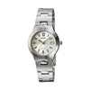 Casio Enticer Analog White Dial Women's Watch - LTP-1241D-7A2DF