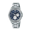 Casio Enticer Analog Blue Dial Men's Watch - MTP-E305D-2AVDF