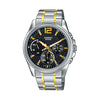 Casio Enticer Analog Black Dial Men's Watch - MTP-E305SG-1AVDF