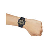 Casio Youth Series Analog - Digital Gold Dial Men's Watch