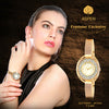 Aspen Feminine Exclusive Champagne Dial Women's Watch