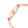 Aspen Jewels Rose Gold Dial Women's Watch