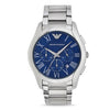 Emporio Armani Valente Blue Dial Men's Watch - AR11082