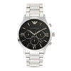 Emporio Armani Giovanni Black Dial Men's Watch - AR11208