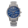 Emporio Armani Renato Blue Dial Men's Watch