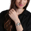 Emporio Armani Gianni T-Bar Grey Dial Women's Watch