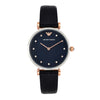 Emporio Armani Gianni T-Bar Blue Dial Women's Watch