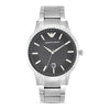 Emporio Armani Renato Black Dial Men's Watch - AR2457