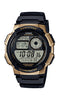 Casio Youth Series Digital Black Dial Men's Watch