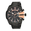 Diesel Mega Chief Black Dial Men's Watch - DZ4309