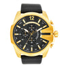 Diesel Mega Chief Black Dial Men's Watch