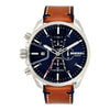 Diesel Ms9 Chrono Blue Dial Men's Watch - DZ4470
