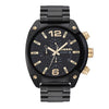 Diesel Overflow Black Dial Men's Watch - DZ4504