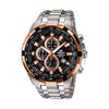 Casio Edifice Analog Black Dial Men's Watch - EF-539D-1A5VDF