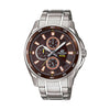 Casio Edifice Analog Brown Dial Men's Watch - EF-334D-5AVDF