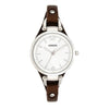 Fossil Georgia Silver Dial Women's Watch