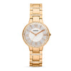 Fossil Virginia Silver Dial Women's Watch
