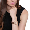 Fossil Tailor Rose Gold Dial Women's Watch - ES3713