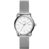 Fossil The Commuter 3H Date Silver Dial Women's Watch - ES4331