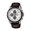 Casio Edifice Analog Silver Dial Men's Watch
