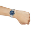 Casio Edifice Blue Dial Men's Watch - EX099