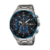 Casio Edifice Analog Black Dial Men's Watch - EFR-539D-1A2VUDF