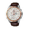 Casio Edifice Analog White Dial Men's Watch - EFR-547L-7AVUDF