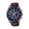 Casio Edifice Analog Blue Dial Men's Watch - EFR-552GL-2AVUDF