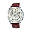 Casio Edifice Analog White Dial Men's Watch - EFV-580L-7AVUDF