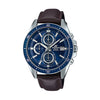 Casio Edifice Analog Blue Dial Men's Watch - EFR-S565L-2AVUDF